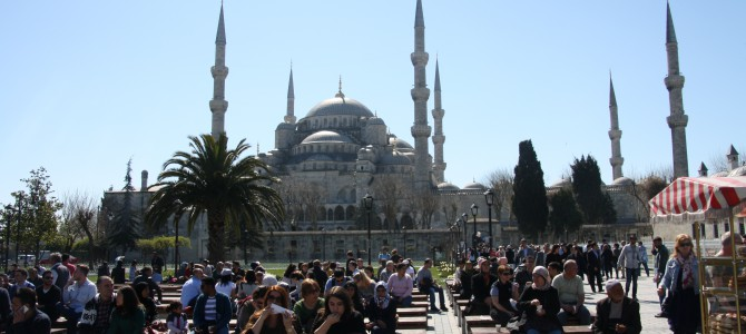 Ein Türke und ein Grieche in Istanbul