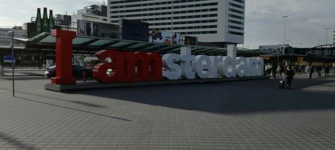 Anreise bis Amsterdam